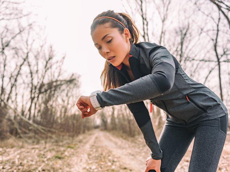 Ein Marathon belastet das Herz